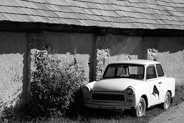 Lonely Trabant