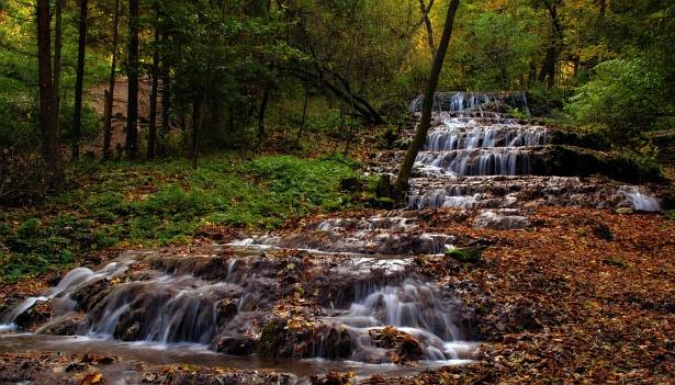 Veil (Fátyol) Waterfalls