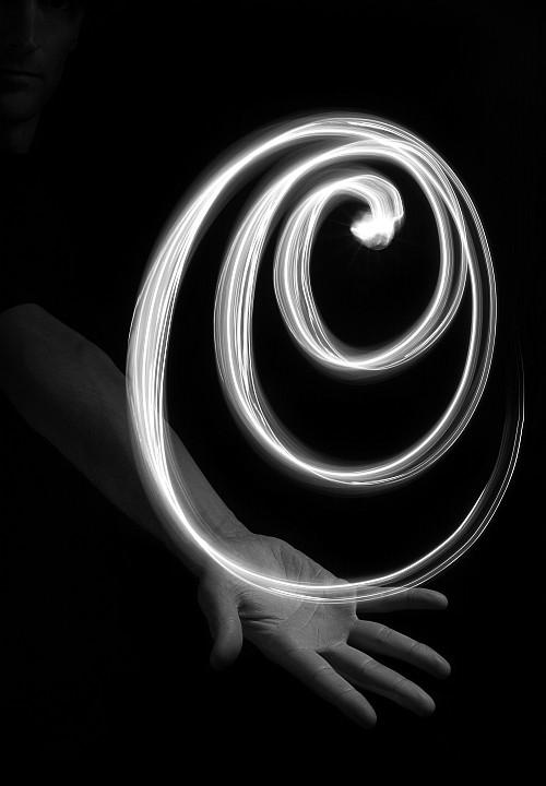 My spiral galaxy