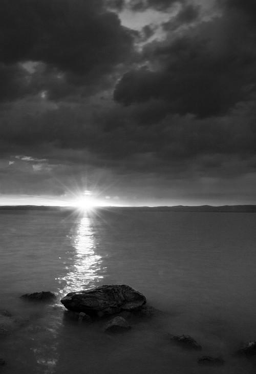 The last blink before sunset