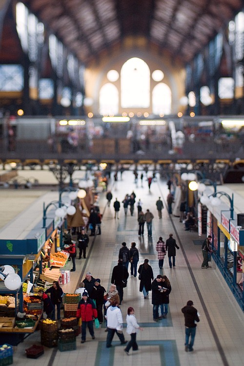 Central Market Hall - Revisited || Nikon D300 | Homemade Tilt-shift lens | 1/60 | ISO 800