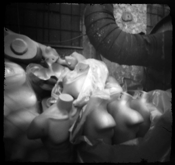 Headless army #2 || Matchbox pinhole camera | Orwo NP15 (expired)