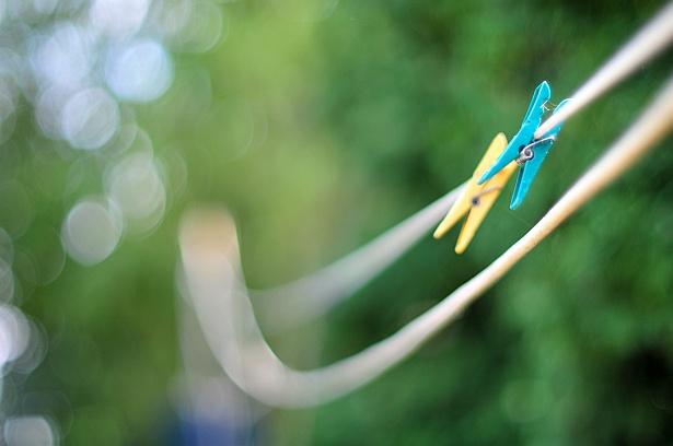 Clothespins || Nikon D300 | Nikon 50mm F/1.2 AI | 1/1600 sec | F/1.2 | ISO 200