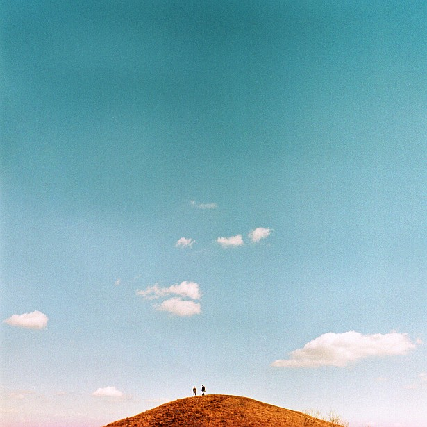 Feeling small || Yashica Mat-124G | Yashinon 80mm F/3.5 | Fuji Provia 100F - cross processed