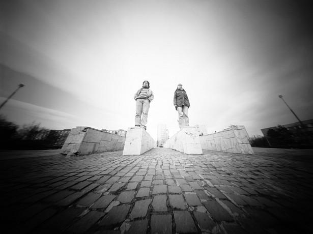 Statue substitutes || Zeroimage 4x5 | F/138 | Shanghai sheet film | ISO 100