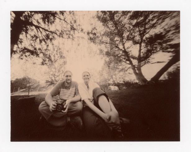 Zs + K || Zeroimage 4x5 | F/138 | Polaroid 100 Chocolate