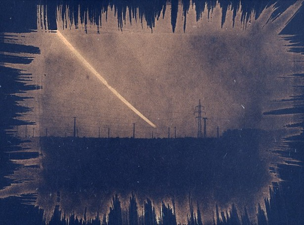 Apocalypse Now || Graflex Speed Graphic | Kodak Ektar 127mm | 9x12 cm cyanotype negative | 6 hours exposure