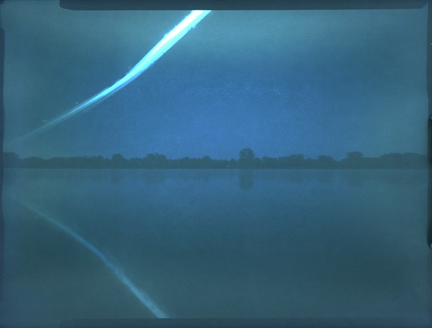 My 9 days long holiday in one picture (solargraph) || Homemade pinhole camera | Forte BN0 paper | 9x12 cm