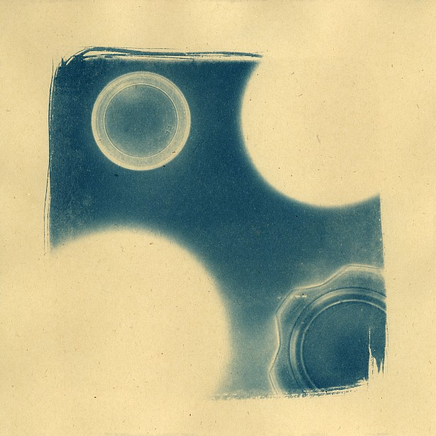 Someone should refill the glasses || Cyanotype | Photogram