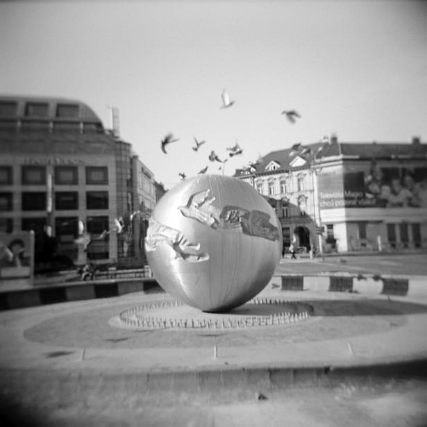 Fly pigeons fly || Holga | Foma Fomapan 100