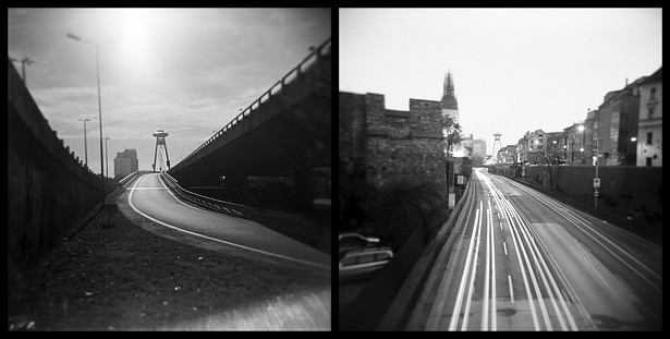 Day & night || Holga | Foma Fomapan 100