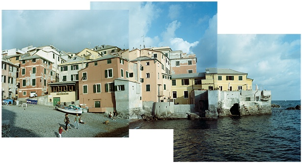 Boccadasse || Yashica Mat-124G | Yashinon 80mm F/3.5 | Kodak Portra 160VC