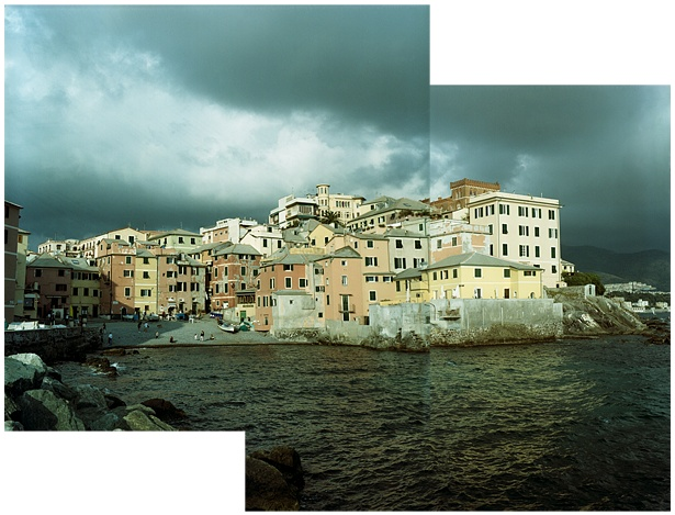 Boccadasse #2 || Yashica Mat-124G | Yashinon 80mm F/3.5 | Kodak Portra 160VC