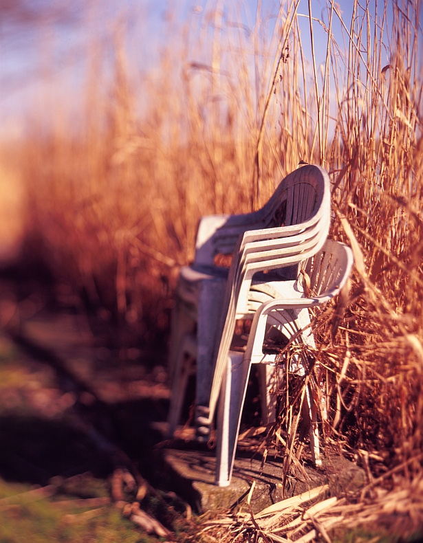 Have a seat #2 || Graflex Speed Graphic | Kodak Aero Ektar 178mm | Kodak E100VS