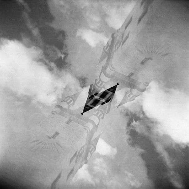 Munich double exposures #2 || Holga | Ilford XP2 (expired)