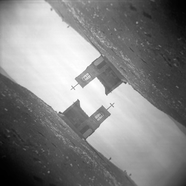 Rax - double exposures || Holga | Kodak BW400CN