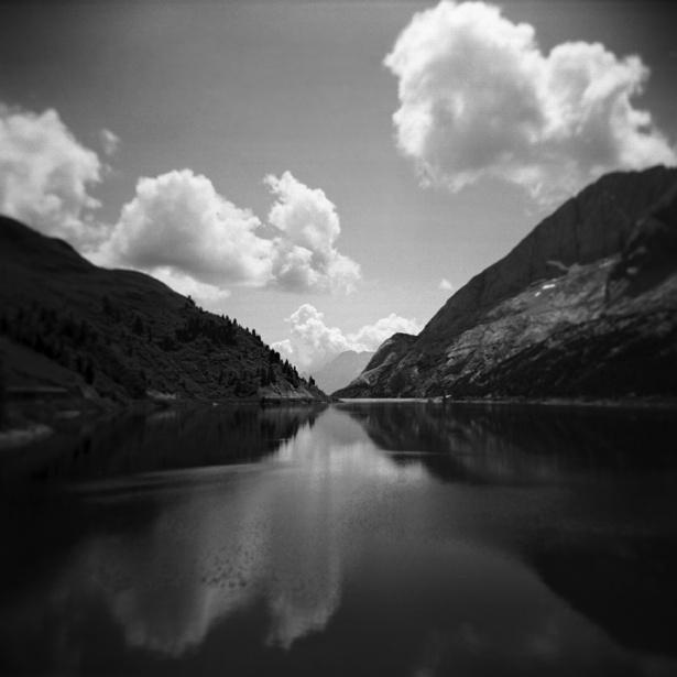 Dolomites #1 || Holga | Kodak BW400CN