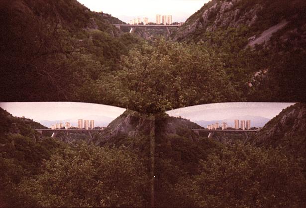 Rijeka || Three-eyed plastic toycamera | Fuji Superia X-Tra 400