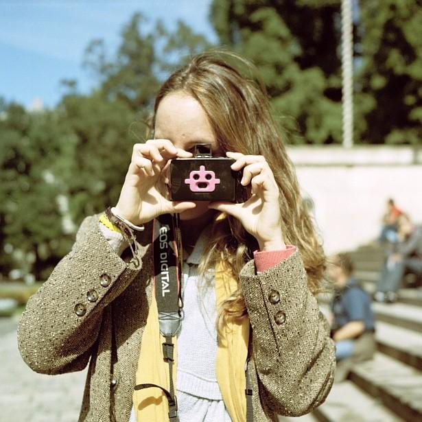 The 'cute camera'    Yashica Mat-124G   Yashinon 80mm F/3.5   Kodak Portra 160VC