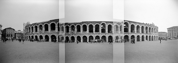 Verona || Holga | Ilford HP5 Plus