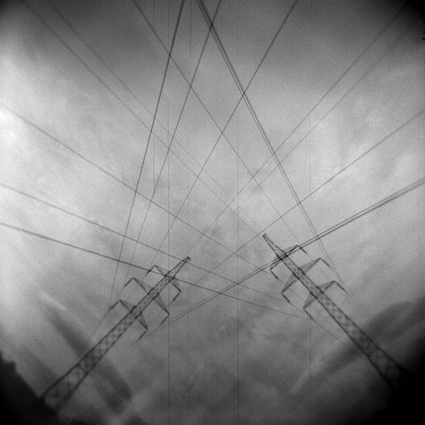 Power lines #1 || Holga | Foma Fomapan 100