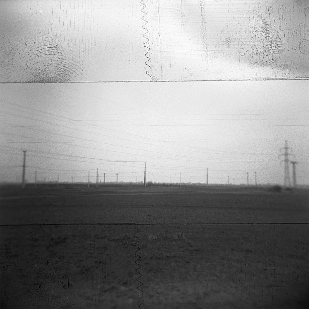 Power lines #2 || Holga | Ilford HP5 Plus
