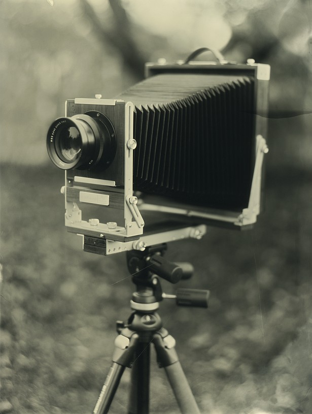 My new 8x10 camera || Graflex Speed Graphic | Kodak Aero Ektar 178mm | Wet plate collodion on 4x5 clear glass